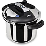 Tower T90103 One Touch Aluminium Pressure Cooker - 6 L