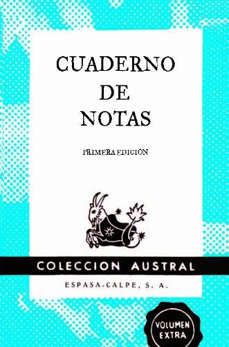 Cuaderno de notas azul 9x14cm (AUSTRAL EDICIONES ESPECIALES) por Espasa Calpe