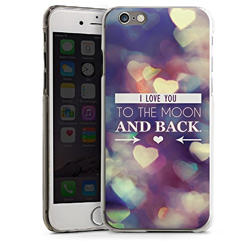Apple iPhone 4 Housse Étui Silicone Coque Protection Saint-Valentin Je t'aime fete CasDur transparent