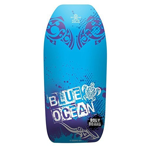Lively Moments Bodyboard Blue Ocean ca. 102 cm / Body Board / Surfboard / Schwimmbrett in blau