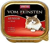 Animonda Vom Feinsten Senior, Nassfutter für ältere Katzen ab 7 Jahren, mit Rind, 32 x 100g