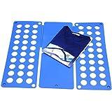 Takit FB5 - Planche À Plier Le Linge - Planche À Plier Les T-shirts - Planche À Plier Les Robes Pantalons Serviettes T-shirts / Planche À Plier Le Linge (Bleue) (bleu)