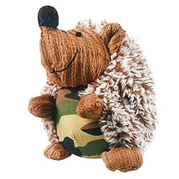 UEETEK Jouet pour chien petits Chat Jouet de hérisson jouets à mâcher dentaire tranining Funny (Camouflage)