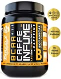 Grizzly Nutrition Bcaa Caffe Infume 4:1:1 Ratio Branched Aminos 6000Mg With 200Mg Caffeine