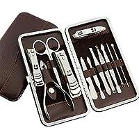 PhantomSky 12 pz in acciaio inox per Manicure Pedicure Set-tagliaunghie