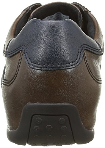camel active Herren Space 26 Low-Top Blau (mocca/navy 03)