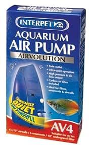 Interpet Airvolution Aquarium Air Pump - AV4