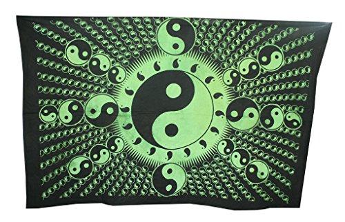 Shubhlaxmifashion Indian Ethnic Decor Wohnheim Gypsy Art Mandala Wandbehang Tapisserie Poster Bohemian (Vera Bradley-t-shirt)