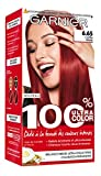 Garnier - 100% Ultra Color - Coloration permanente Rouge - 6.65 L'Ultra Rouge