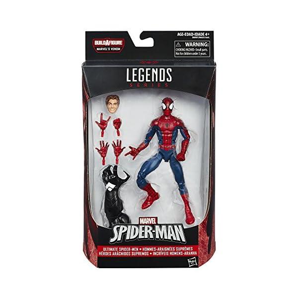 Construye una Figura de Marvel Venom Legends Series «Spiderman Peter Parker», Figura de 15,24 cm 2