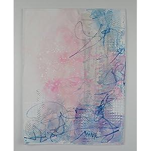 Original Kunstwerk Luisa 30x40auf Papier