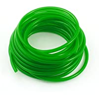 Sourcingmap - Motore ad iniezione di olio combustibile a gas pu tubo tubo 5mmx8mm 33 ft verde chiaro