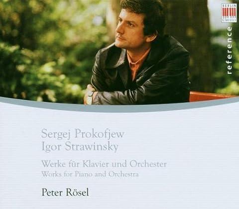 Prokofiev : Concerto pour piano n° 2 / Stravinsky : Capriccio pour piano et orchestre ; Circus Polka ; Trois mouvements de Petrouchka [Import allemand]