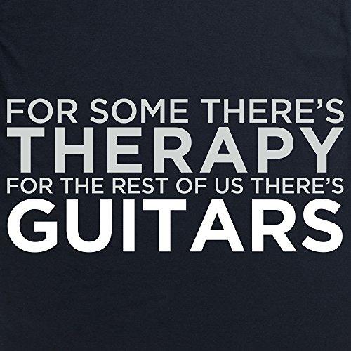 Guitar Therapy T-Shirt, Herren Schwarz