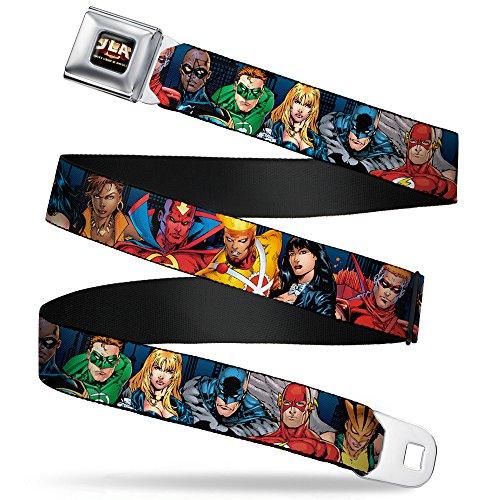 Ceinture DC Comics: Héros Justice League Seat Belt Buckle Down