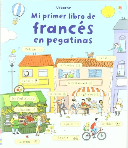 MI PRIMER LIBRO DE FRANCES EN PEGATINAS