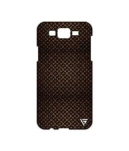 Vogueshell LV Pattern Printed Symmetry PRO Series Hard Back Case for Samsung Galaxy J7
