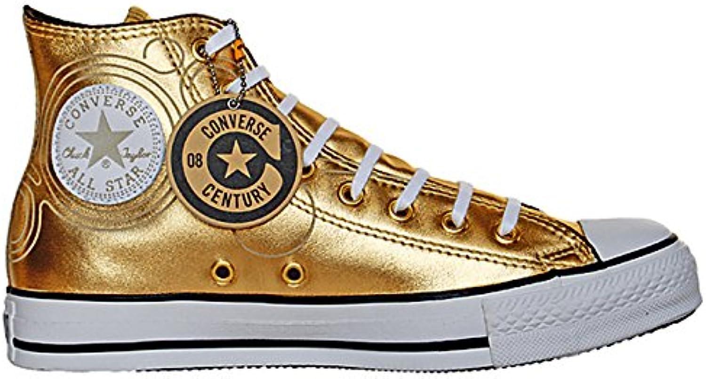Converse Star Chucks EU 46 UK 11 5 Gold Limited Edition Leder Rar 106023