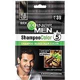 Garnier Garnier Men Shampoo Color Shade 1 Natural Black, 10ml+10ml
