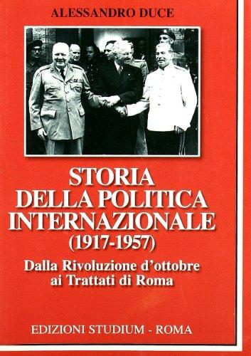 Storia della politica internazionale (1917-1957)
