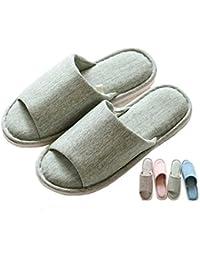 Pantoufles en peluche à la maison d'hiver de dames et de filles en tricotant des pantoufles chaudes et douillettes avec des chaussures anti-dérapantes intérieures , 38