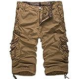 WSLCN Homme Vintage Cargo Shorts...