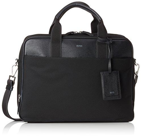 BOSS Herren Meridian_d Doc Case Business Tasche, 13,5 x 31 x 42 cm, Schwarz (Black) (Messenger Hugo Boss Für Männer Bag)