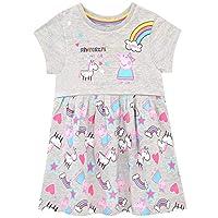 Peppa Pig Girls Unicorn & Rainbows Dress