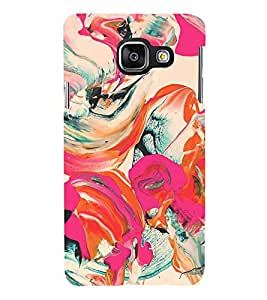Fiobs Designer Back Case Cover for Samsung Galaxy A3 (6) 2016 :: Samsung Galaxy A3 2016 Duos :: Samsung Galaxy A3 2016 A310F A310M A310Y :: Samsung Galaxy A3 A310 2016 Edition (Art Painting Décor Design Paint)
