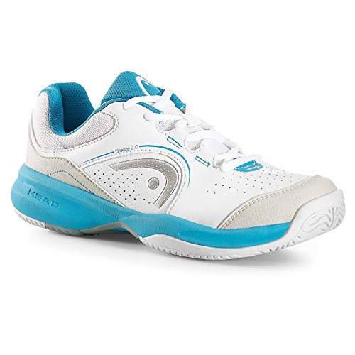 Head Breeze 2.0 Women WHAQ, Scarpe da Tennis Donna, Bianco (White/Aqua), 38 EU
