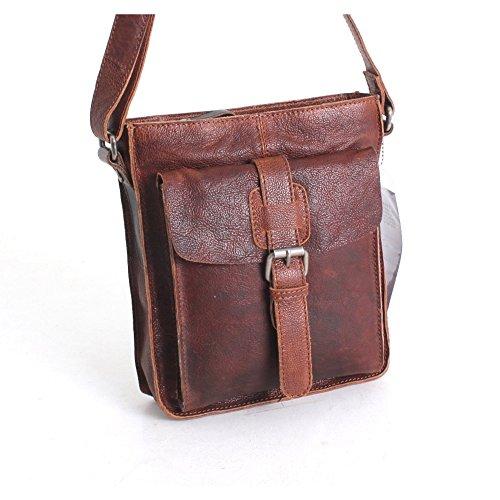 Ashwood Leather, Borsa a tracolla donna Taglia unica Brown