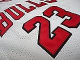 NBA Mitchell & Ness Michael Jordan Chicago Bulls 1998Swingman Jersey Camiseta–Nuevo, blanco