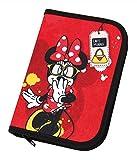 Undercover MINP0440 - Schüleretui Disney Minnie Mouse mit Stabilo, Markenfüllung, 30-teilig, rot