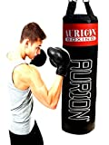Aurion Strong Punching Bag unfilled for Boxing MMA Sparring Punching Training Kickboxing Muay Thai (48 inches Unfilled)