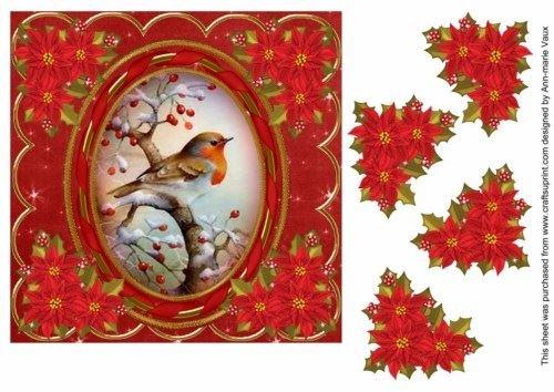 red-robin-7in-ruban-de-decoration-planche-a-decouper-ovale-par-ann-vaux-marie