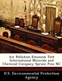 Air Pollution Emission Test International Minerals and Chemical Company Spruce Pine NC