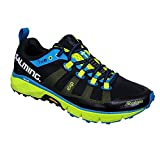Salming Trail 5 Shoe Black Fluo Green 42