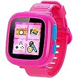 Juego Smart Watch para niños, TURNMEON® Kids reloj de juguete con pantalla táctil, cámara, 10X juegos, temporizador, reloj despertador, podómetro con control de los padres (02Rosa)