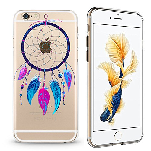 Panelize iPhone 7 Indianer Hülle Schutzhülle Handyhülle Hard Case Cover Kratzfest Rutschfest Durchsichtig Klar (Traumfänger) Traumfänger1