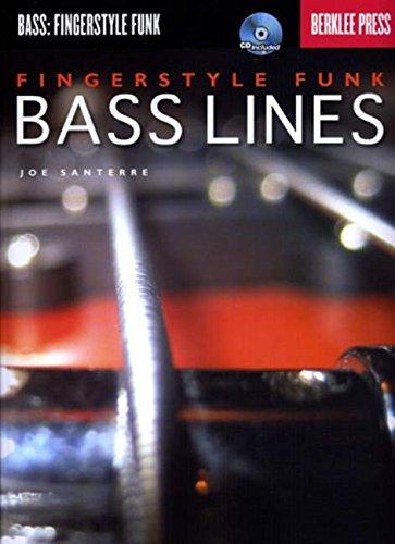 Fingerstyle Funk Bass Lines (Book & CD): Noten, CD, Lehrmaterial für Bass-Gitarre (Bass: Fingerstyle Funk) (Bass-midi)