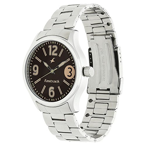 51VL4QEA7iL - 3001SM07 Fastrack Brown Boys