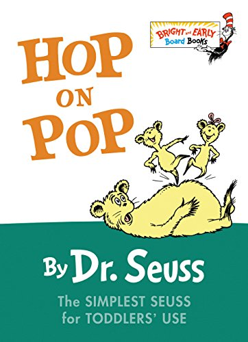 Hop on Pop (Bright and Early Board Books) por Dr Seuss