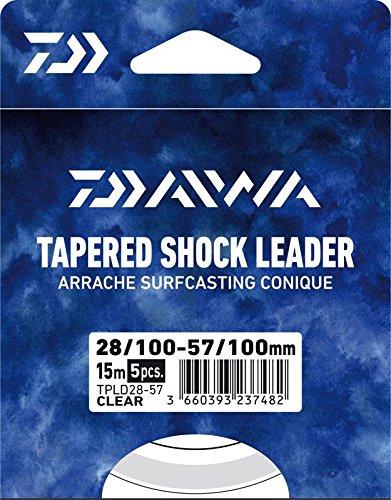 Bas De Ligne Daiwa Arrache Surf Taper Leader - 5 X 15m - Par 5 par  Daiwa