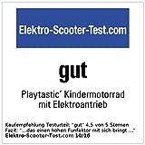 Playtastic Kindermotorrad mit Elektroantrieb inkl. Netzteil - 2