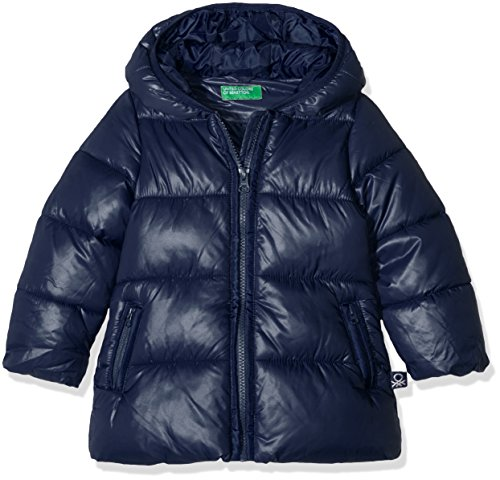 United Colors of Benetton 2EO0538F0, Giacca Bambina, Blu (Navy), 24 Mesi