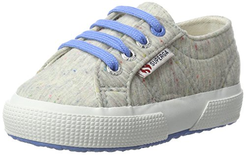 Superga Unisex-Kinder 2750 Fabric Jerseyj Low-Top Mehrfarbig (blue lt. FUXIA)
