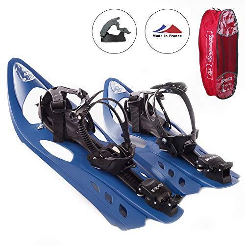 Inook Schneeschuhe Allround AXM mit Steighilfe und Ratschenbindung, Schuhgröße EU 36-47 (UVP: 179,95€)