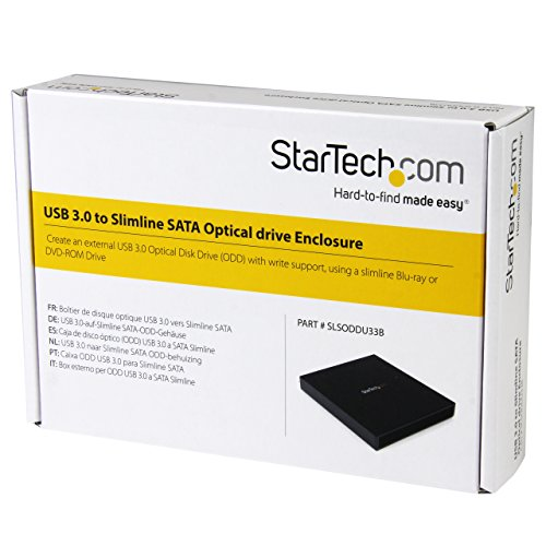 StarTech SLSODDU33B Festplattengehäuse (12,7 cm (5,2 Zoll) SATA II, USB 3.0)