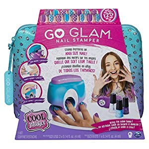 Spin Master Cool Maker GoGlam Nail Studio - Maquillaje de Juguete (Nail Polish Set, Multicolor, Femenino, 8 año(s), China, 330 g)