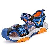 Jungen Sandals Sommer Strand Sneakers Draussen Sportschuh Gr:-36 EU Farbe:-1-blau